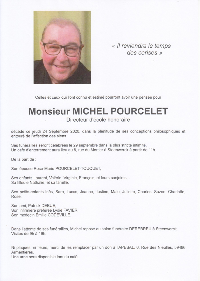 POURCELET Michel