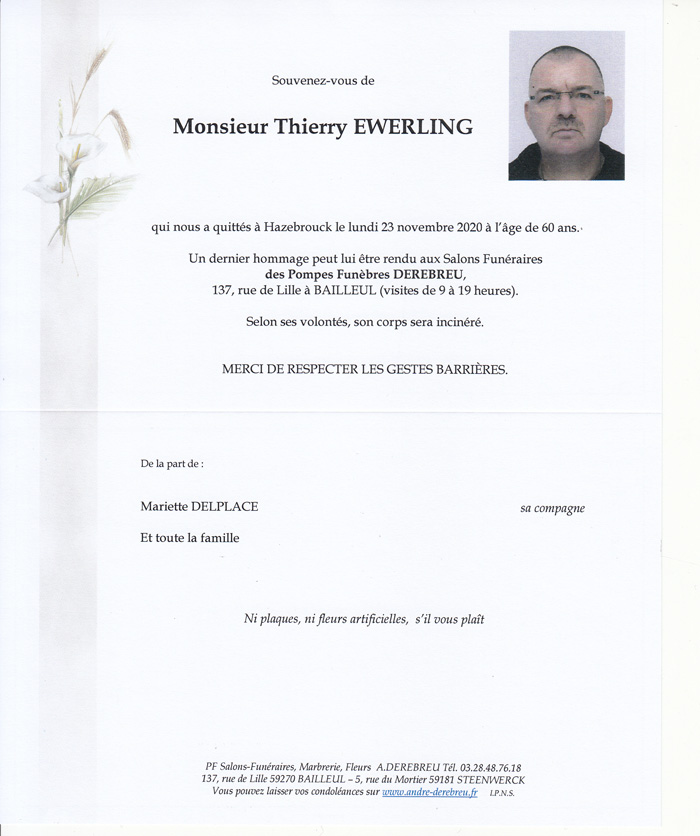 EWERLING Thierry
