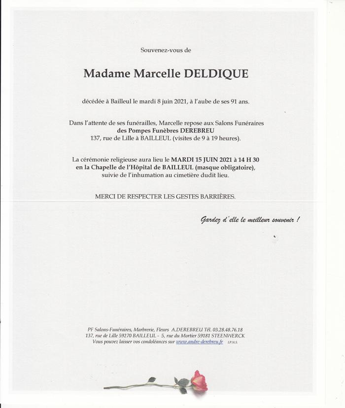 DELDIQUE Marcelle