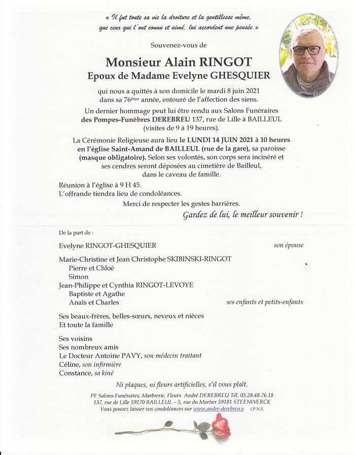 RINGOT Alain
