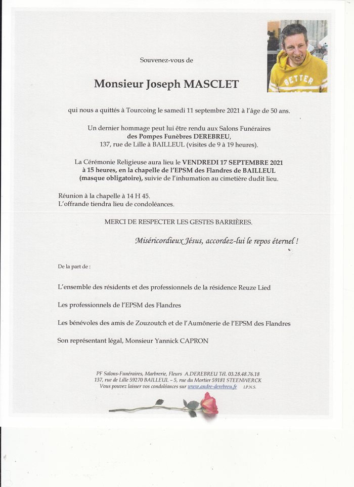 MASCLET Joseph