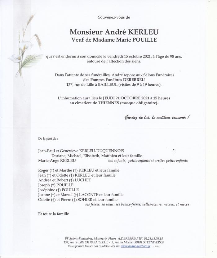 KERLEU André